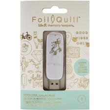 WRMK Foil Quil - Design Drive USB / Icons & Words