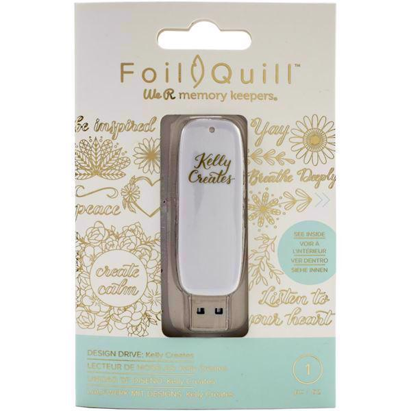 WRMK Foil Quil - Design Drive USB / Kelly Creates