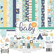 Echo Park Paper Collection Pack -  Hello Baby Boy