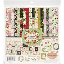 "Carta Bella Scrapbook Paper Collection Kit 12x12"" - Botanical Garden"