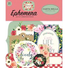 Carta Bella - Botanical Garden / Ephemera Icons