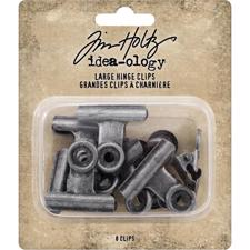 Tim Holtz / Idea-ology - Hinge Clips Large