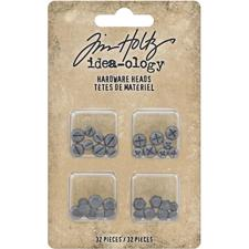 Tim Holtz / Idea-ology - Flatback Hardware Heads