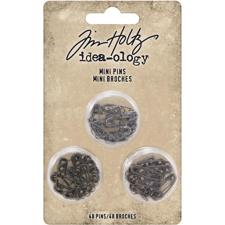 Tim Holtz / Idea-ology - Mini Safety Pins