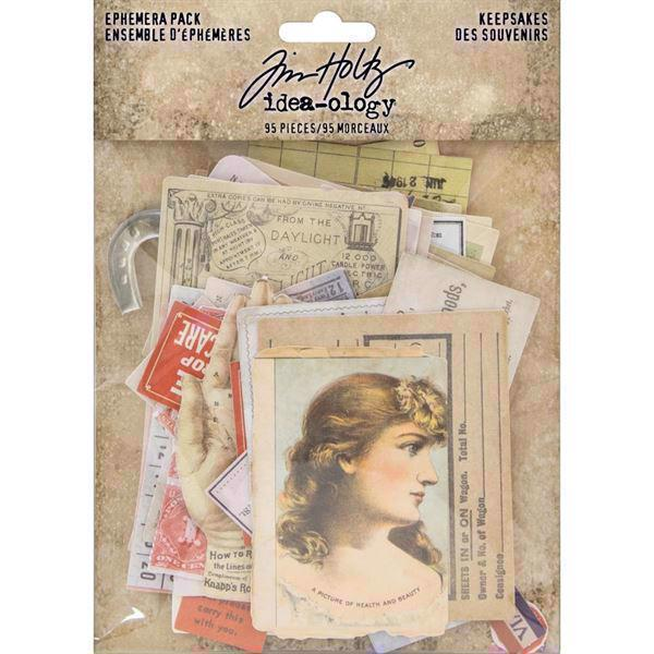 Tim Holtz / Idea-ology - Ephemera Pack Keepsakes