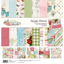 "Simple Stories Paper Pack 12x12"" Collection - Vintage Botanicals"