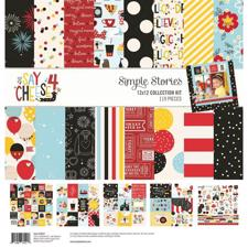 "Simple Stories Paper Pack 12x12"" Collection - Say Cheese 4"