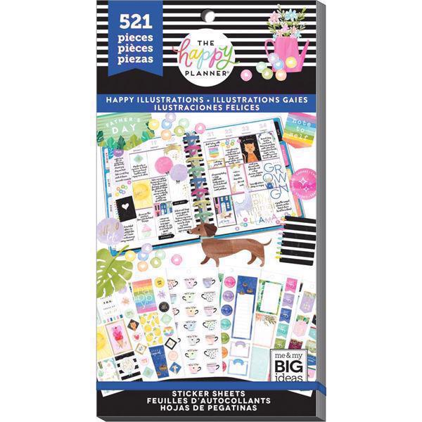Happy Planner - Happy Planner / Sticker Value Pack - Happy Illustrations