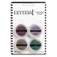 Ranger Letter It - Embossing Powder Kit / Graceful
