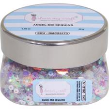 Dress My Crafts Sequins - Angel Mix