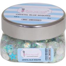 Dress My Crafts Sequins - Crystal Blue