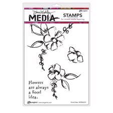 Dina Wakley Cling Rubber Stamp Set - Good Idea
