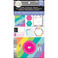 Happy Planner Note Cards/Sticky Note Multi Pack - Meal Plans