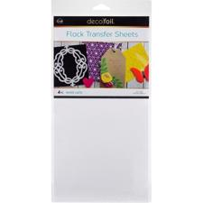 iCraft Deco Foil - Flock Transfer Sheets / White Latte