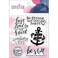 Creative Devotion Clear Acrylic Stamps - Anchor