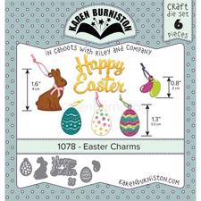 Karen Burniston Die - Easter Charms