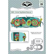 Karen Burniston Die - Circle Tag Book Pop-Up