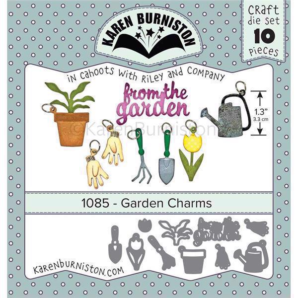 Karen Burniston Die - Garden Charms