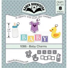 Karen Burniston Die - Baby Charms