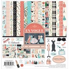 "Carta Bella Scrapbook Paper Collection Kit 12x12"" - En Vogue"