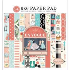 "Carta Bella Paper Pad 6x6"" - En Vogue"