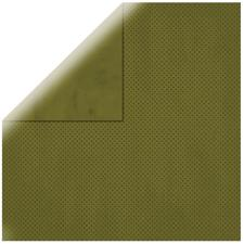Double Dot Cardstock - Olive