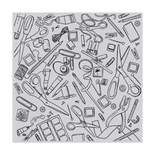 Hero Arts Cling Stamp - Bold Prints / Crafting Tools