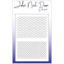 John Next Door Stencil - #001 / Trellis & Net