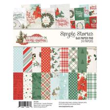 "Simple Stories Paper Pad 6x8"" - Country Christmas"