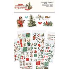Simple Stories - Country Christmas / Mini Sticker Tablet