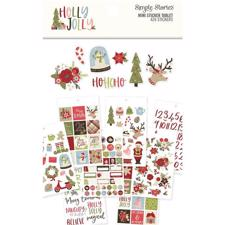 Simple Stories - Holly Jolly / Mini Sticker Tablet