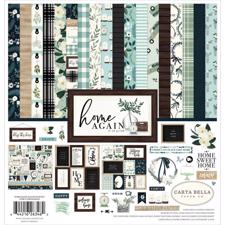"Carta Bella Scrapbook Paper Collection Kit 12x12"" - Home Again"