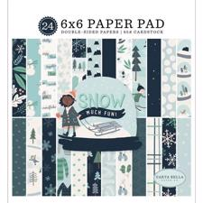 "Carta Bella Paper Pad 6x6"" - Snow Much Fun"