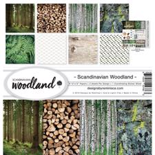 "Reminisce Collection Pack 12x12"" - Scandinavian Woodland"
