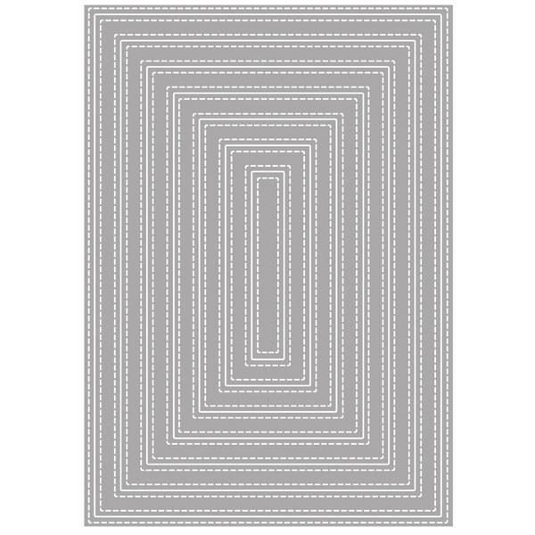 Rayher Die - Double Stiched Rectangles