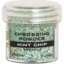 Ranger Embossing Powder - Speckle / Mint Chip