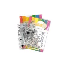 Waffle Flower Clear Stamp & Die Combo - Bouquet Builder 5
