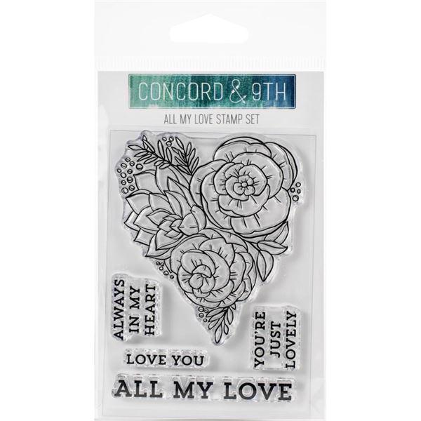 Concord & 9th Stamp - All My Luve