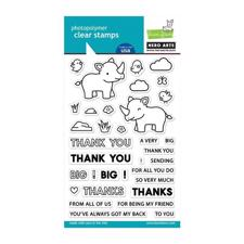 Hero Arts & Lawn Fawn Clear Stamp Set - Big Thanks