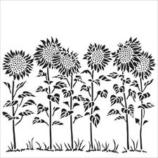 "Crafter's Workshop Template 6x6"" - Sunflower"