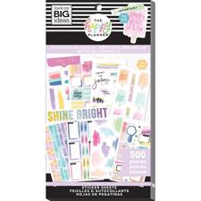 Happy Planner Sticker Value Pack - Watercolor Goals