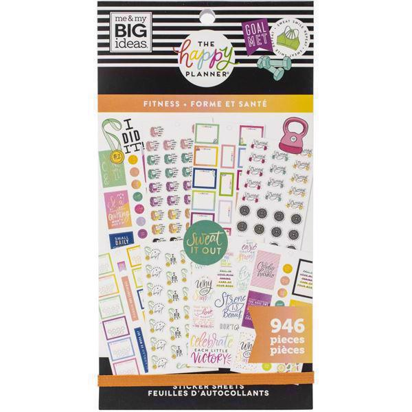 Happy Planner - Happy Planner / Sticker Value Pack - Fitness