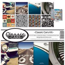"Reminisce Collection Pack 12x12"" - Classic Cars"