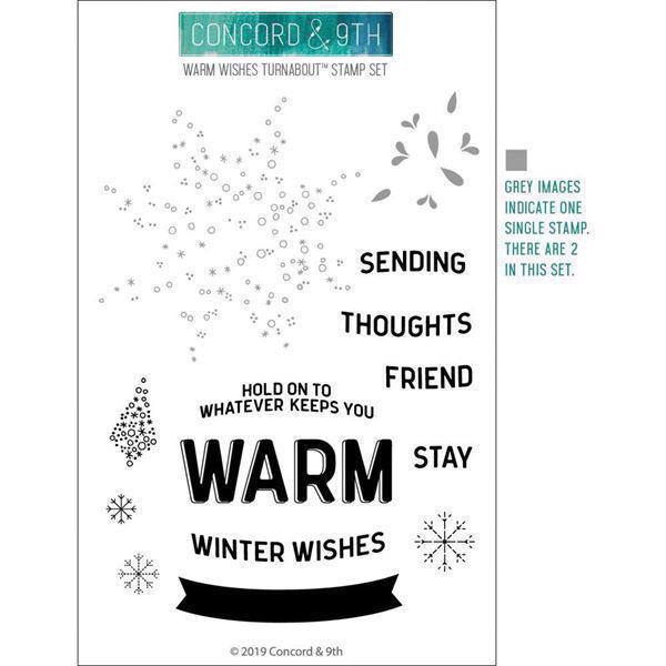 Concord & 9th Stamp Set - Warm Winter Wishes