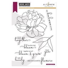 Hero Arts & Altenew Clear Stamp Set - Bloom and Grow