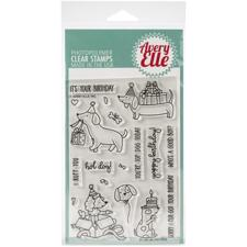 Avery Elle Clear Stamp - Hot Dog