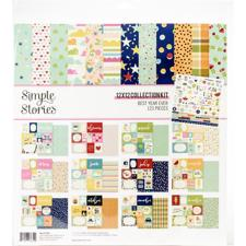 "Simple Stories Paper Pack 12x12"" Collection - Best Year Ever"