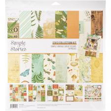 "Simple Stories Paper Pack 12x12"" Collection - Simple Vintage Great Escape"