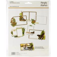 Simple Stories Frames - Simple Vintage Great Escape