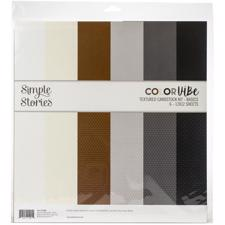 "Simple Stories Color Vibe - Paper Pack 12x12"" / Basics"